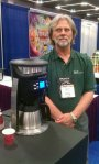 Joe Behm with Brazen at SCAA Symposium in Portland